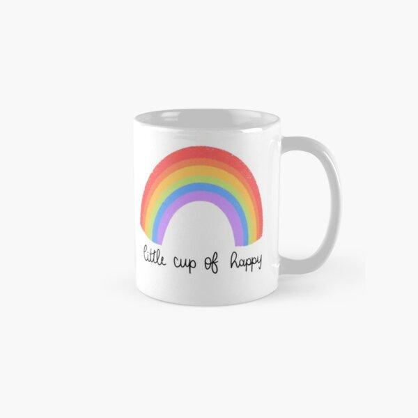 Little Cup of Happy Rainbow Classic Mug