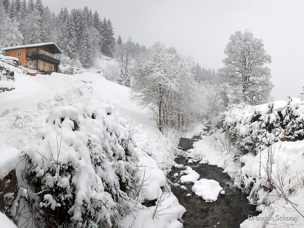 Snow House by Brendan Schoon