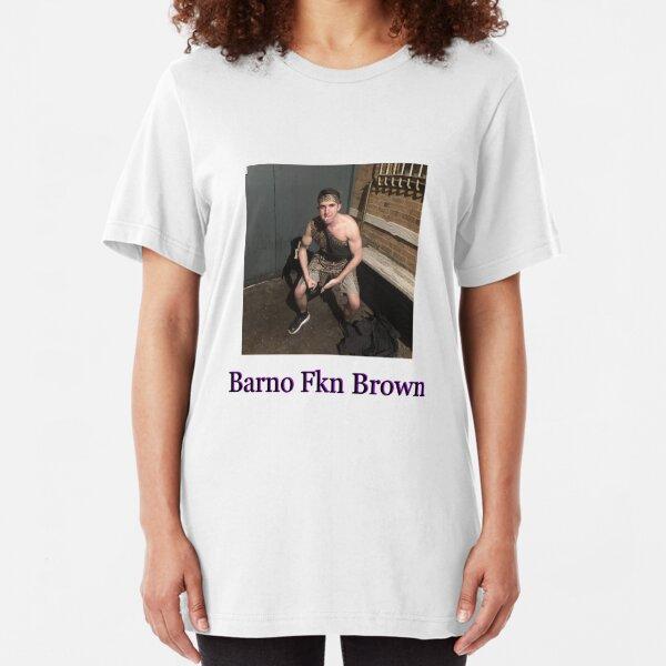 Barno Fkn Brown Slim Fit T-Shirt
