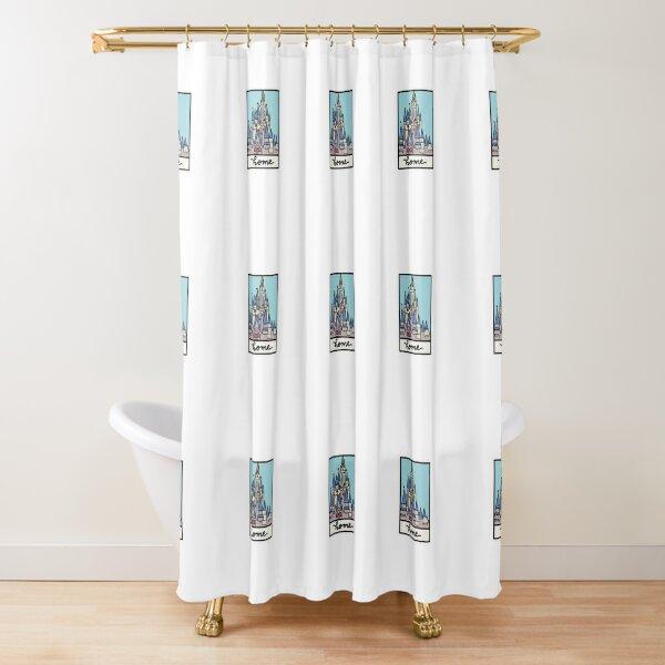 magic castle Shower Curtain