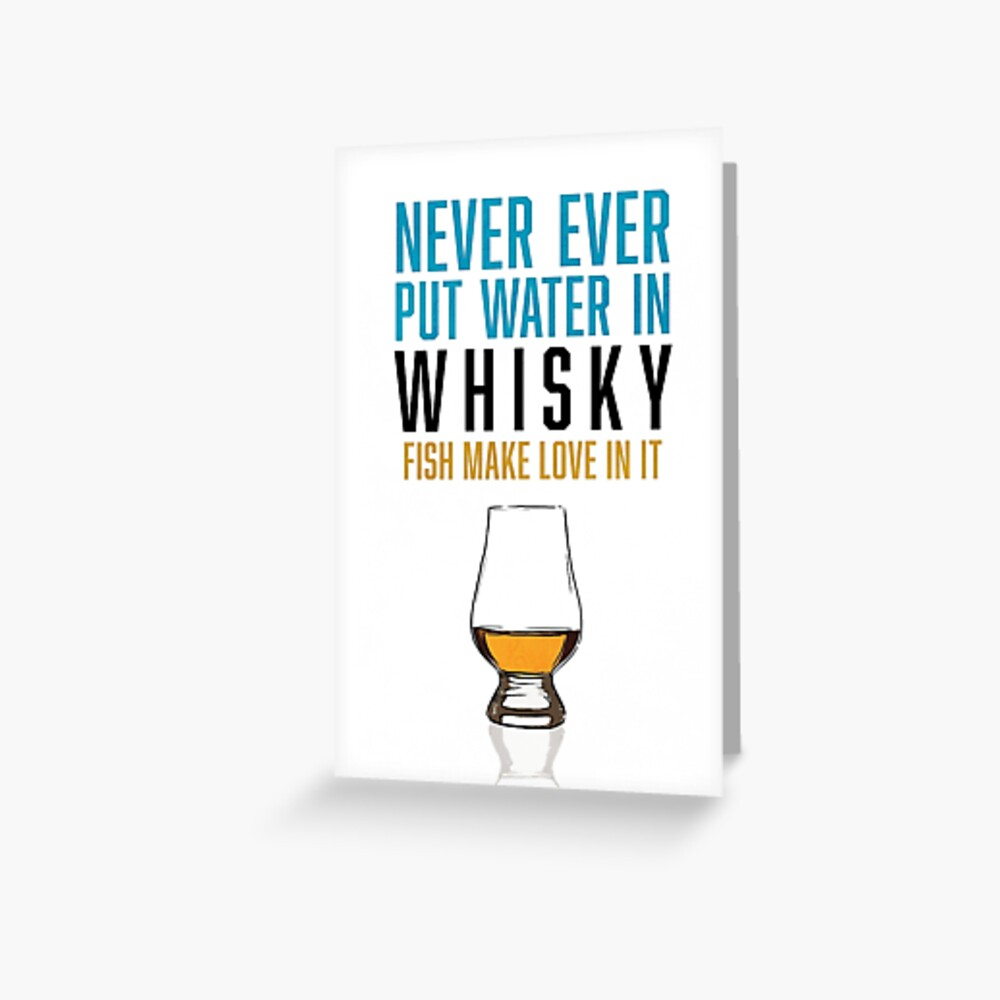 Geburtstagskarte whisky