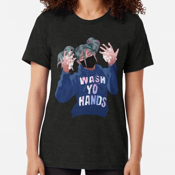 Wash Your Hands Tri-blend T-Shirt