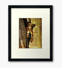 A military past, Cartagena, Spain Framed Print
