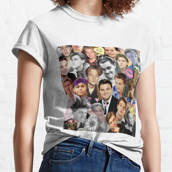 Leonardo DiCaprio Collage Classic T-Shirt