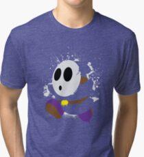 Splattery Shy Guy Style 2 Tri-blend T-Shirt