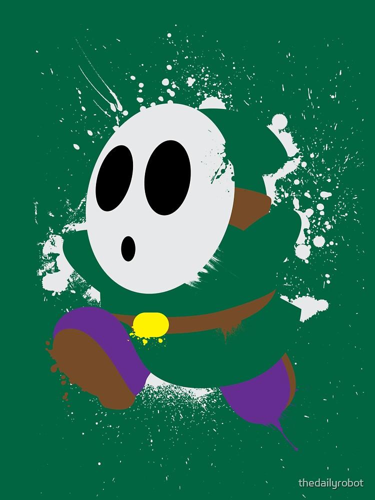 Splattery Shy Guy Style 2 | Unisex T-Shirt