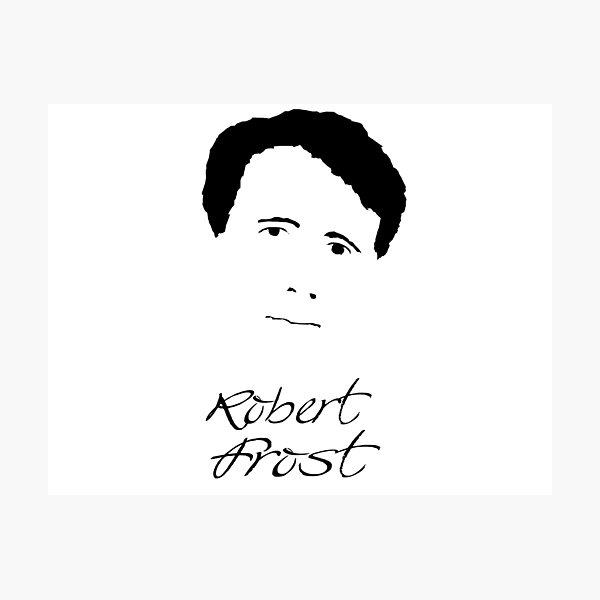 Robert Frost Poet Photographic Print