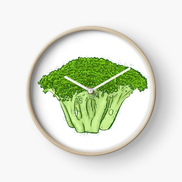 Yes to Broccoli Clock