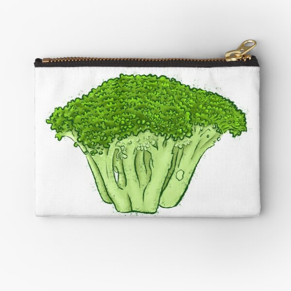 Yes to Broccoli Zipper Pouch