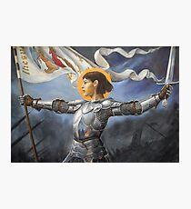 Joan of Arc Photographic Print