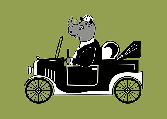 Model T Rhino with cap by wilynsical