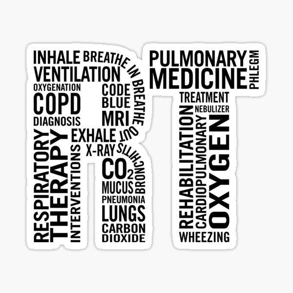 Respiratory Therapist Sticker