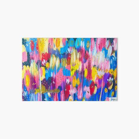 Vibrant Abstract Painting Art Board Print
