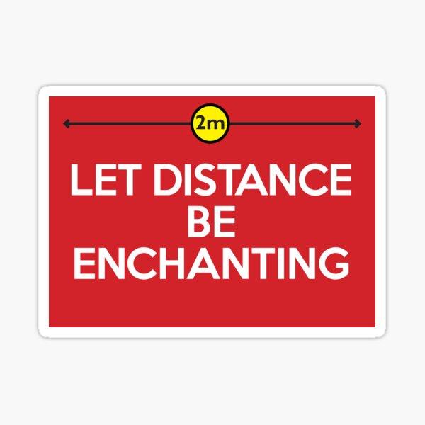 Let Distance: Covid 19 Graphic Sticker