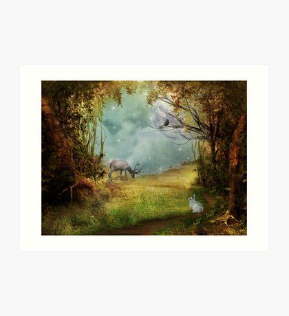 Songs from the wood Kunstdruck