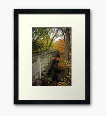 Virginia Creeper Trail, Abingdon Framed Print