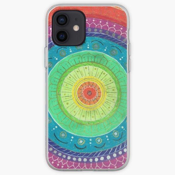 Rainbow Mandala iPhone Soft Case