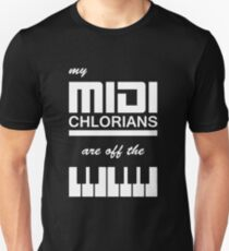 My Midi Chlorians Are Off The Scale T-Shirt