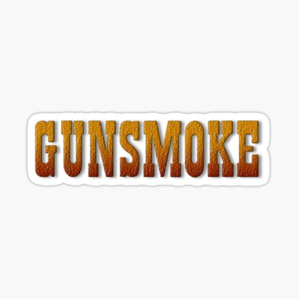 Gunsmoke Sticker