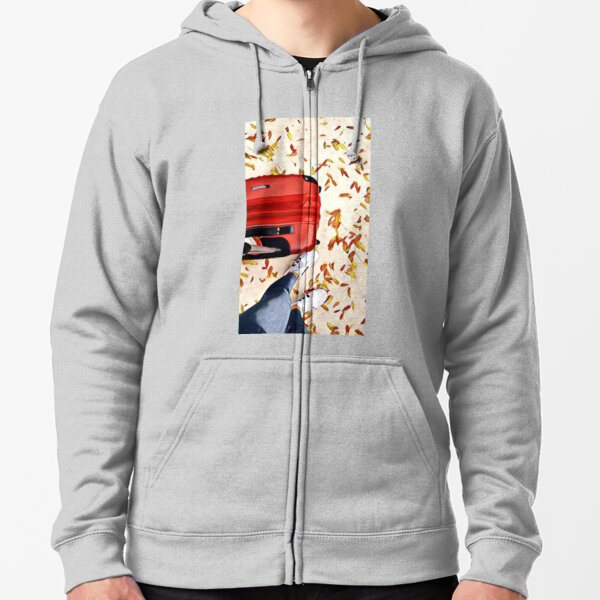 Oh The Places You Will Go Zipped Hoodie