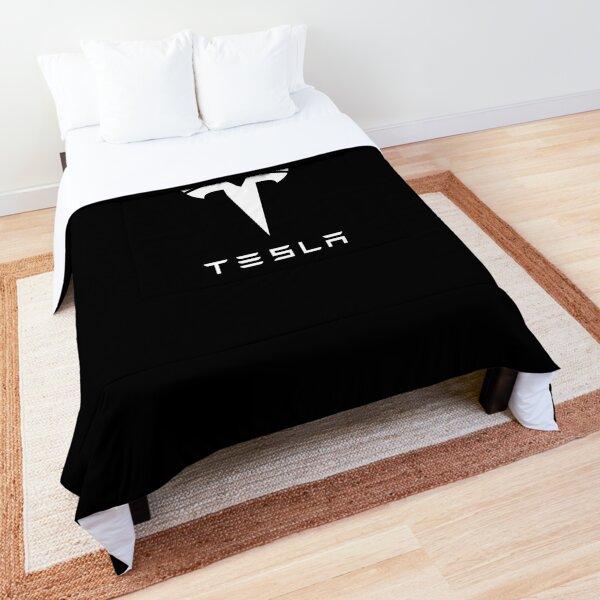 BEST SELLER - Tesla Logo Comforter