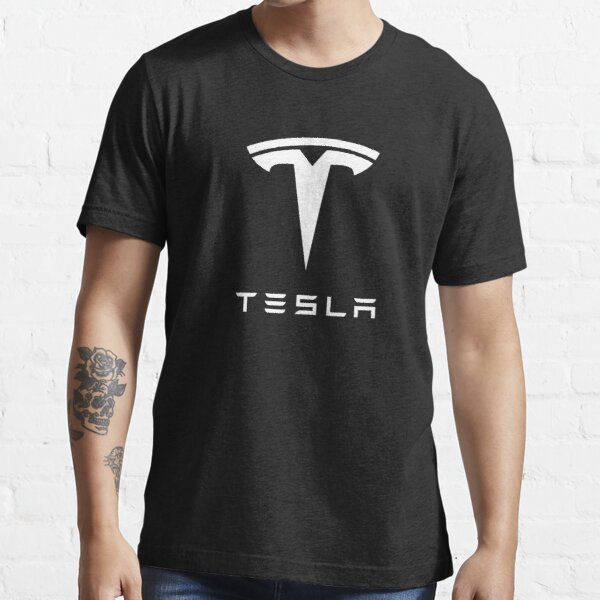 BEST SELLER - Tesla Logo Essential T-Shirt