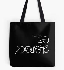 Get Sherlock Reflection in White Tote Bag