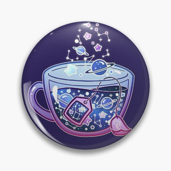 Galaxy Tea Pin