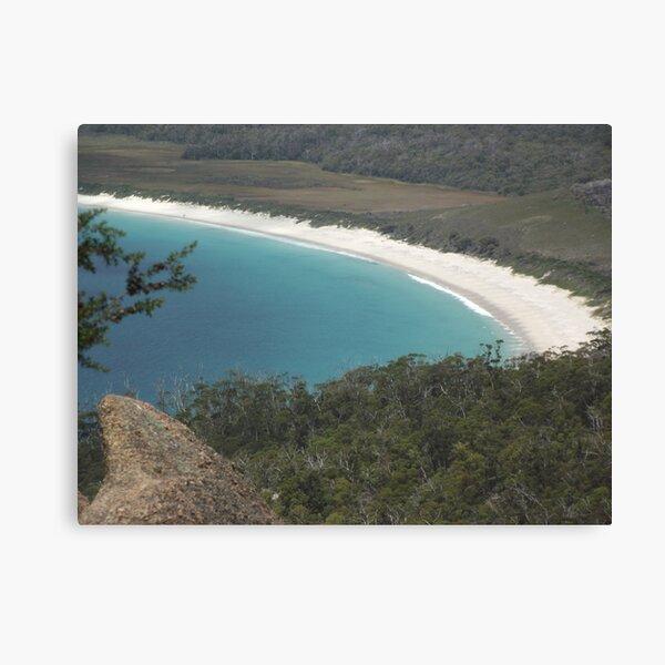 stunning Wineglass Bay Canvas Print