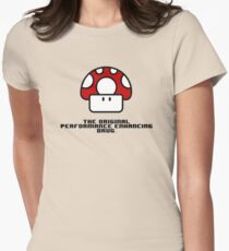 Performance Mushrooms Women's Fitted T-Shirt