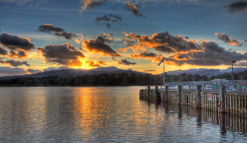 Ambleside Pier by Roger Green