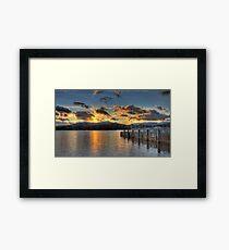 Ambleside Pier Framed Print