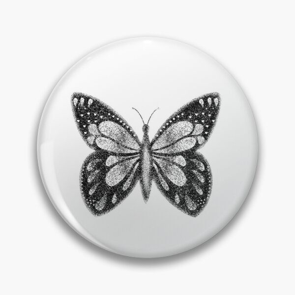 Butterfly tattoo Pin