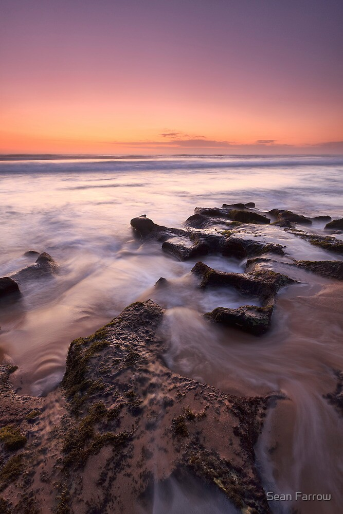 Back Beach Rocks - Rye, Victoria, Australia by Sean Farrow