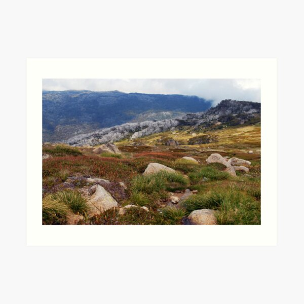 Ramshead vista Art Print