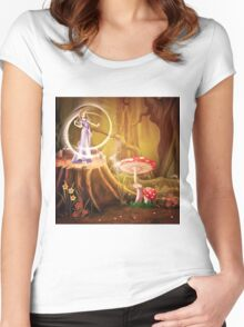 Fairytale Women's Fitted Scoop T-Shirt