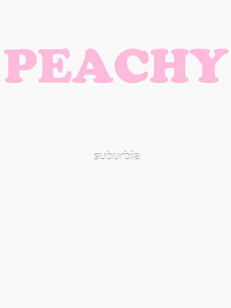 Peachy (pink) by suburbia
