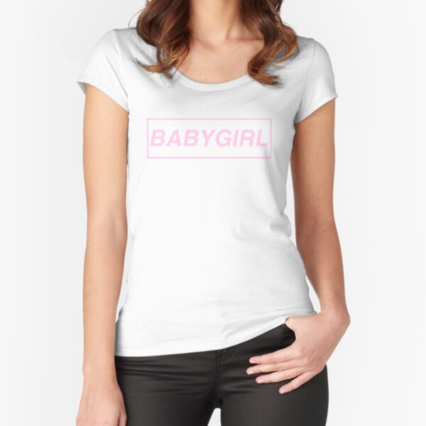Babygirl Fitted Scoop T-Shirt