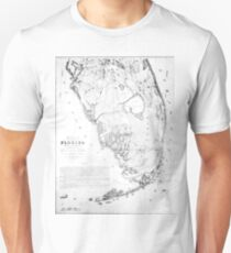 Old Florida Maps.Old Florida Map T Shirts Redbubble