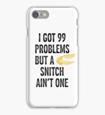 99 problems iPhone Case/Skin