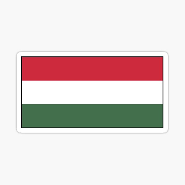 Hungarian Flag Stickers, Gifts and other Products Sticker