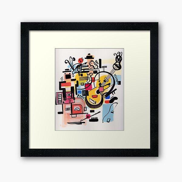 The Musicians Framed Art Print