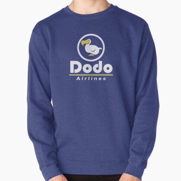 Dodo Airlines DAL Full Logo Pullover Sweatshirt