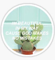 I'm Beautiful Sticker