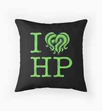 I HEART HP LOVECRAFT Throw Pillow