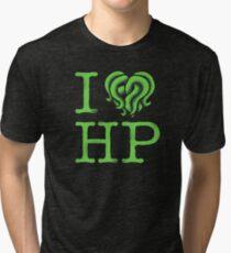 I HEART HP LOVECRAFT Tri-blend T-Shirt