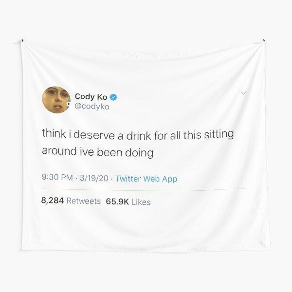 Cody Ko tweet Tapestry
