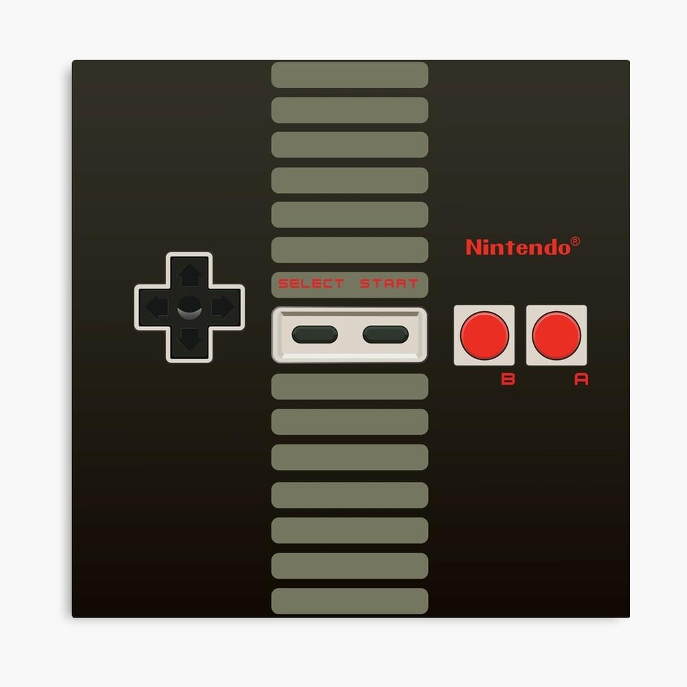 Controlador de Nintendo Lienzo