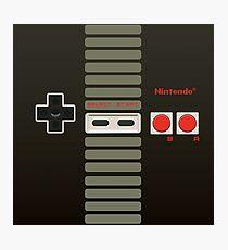 Lámina fotográfica Controlador de Nintendo