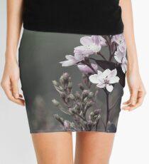 Dreary Flower  Mini Skirt